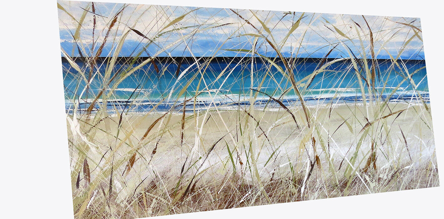 Art Painting Original Ocean Ocean Ocean Beach Gold coast Byron print  Australia c476c2