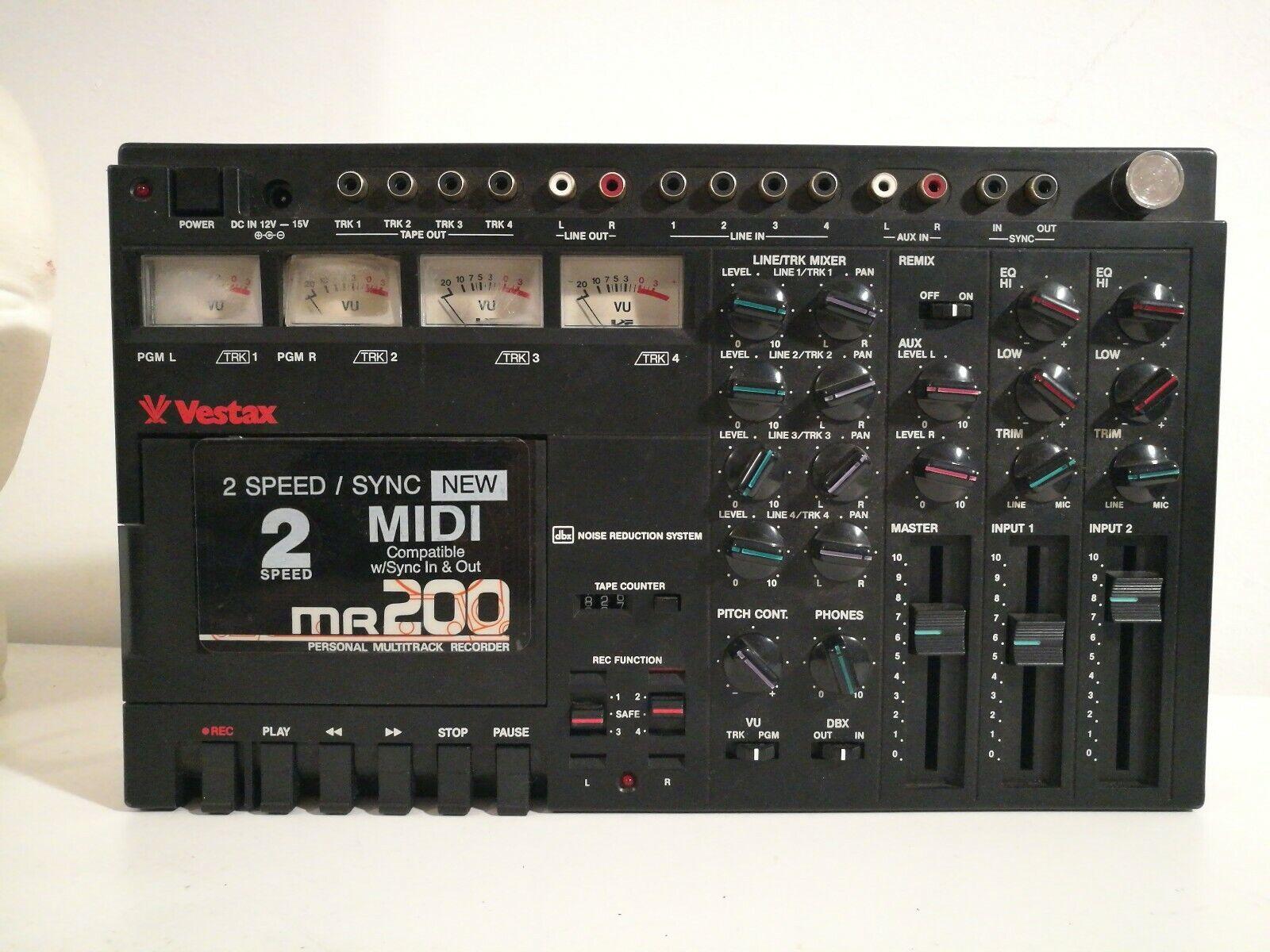 VESTAX MR 200  MULTITRACK TAPE RECORDER