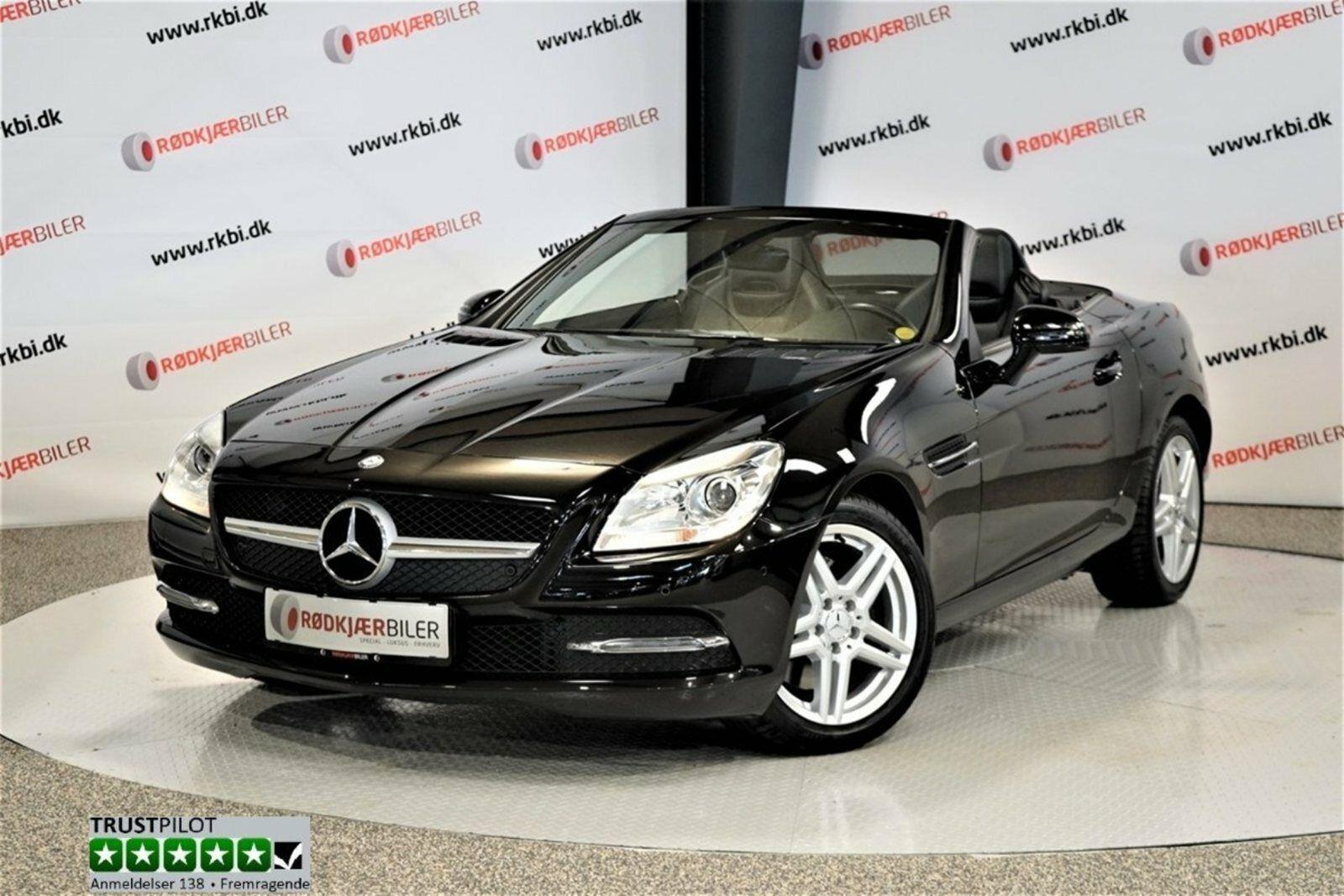 Mercedes SLK250 2,2 CDi aut. BE 2d - 3.991 kr.