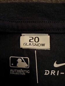 Tyler Glasnow Practice Worn Game-Worn Issued Tampa Bay Rays Shirt