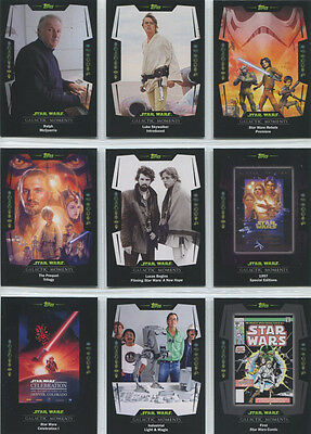 Topps Star Wars Digital Card Trader 32 Card Black /& White Quotes 2 Insert Set