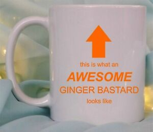 Ginger C*nt Personalised Novelty Mugs Funny Tea Coffee