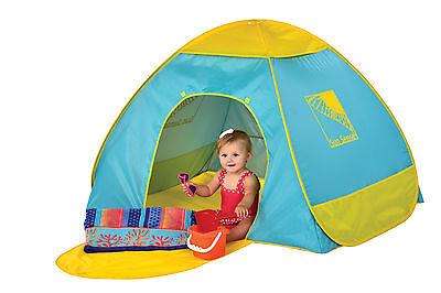 Infant 50+ UV / UPF Protection Pop Up Beach Garden Tent Play Shade Sun Shelter