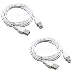 2 For HP PSC All-in-One Printer High Speed USB 2.0 Cable Cord 6FT NEW HOT!