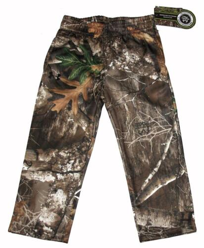 Under Armour UA Hunt REALTREE Camouflage Stretch 2-Pkt Pants Toddler 2T NWT $43