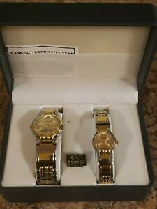 Marco-Max-Matching-His-amp-Hers-Watch-Box-Set-Quartz-Silver-amp-gold-two-Tone-299