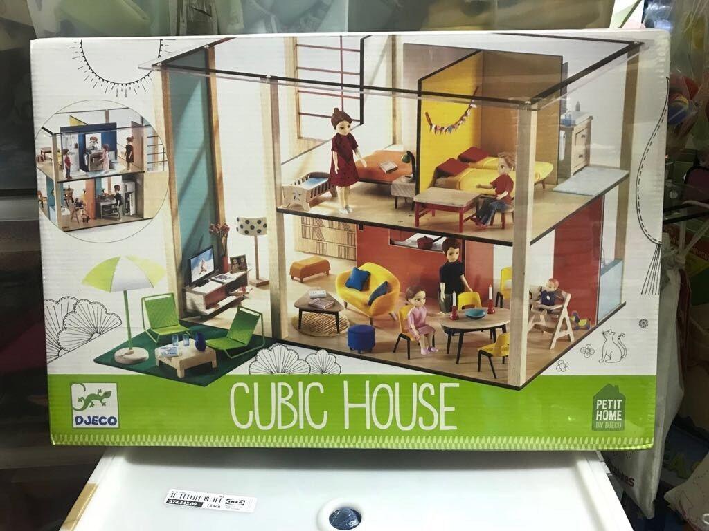 Casa Delle Bambole Cubic House Djeco Nuova Imballata