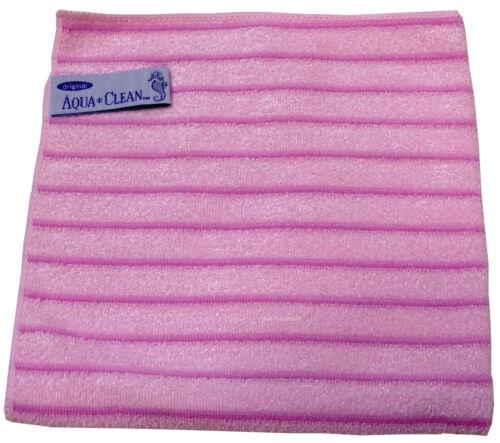 1 Aqua Clean Microfasertuch Streifentuch Tuch 40 x 40 cm verschiedene Farben