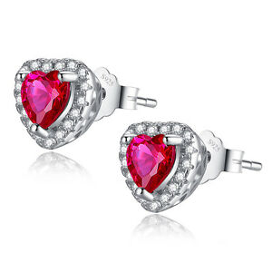 1-0-CTW-Heart-Cut-Created-Ruby-925-Sterling-Silver-Stud-Earrings-Gifts-for-Her