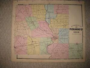 Antique Pickaway County Circleville New Holland Tarlton Williamsport