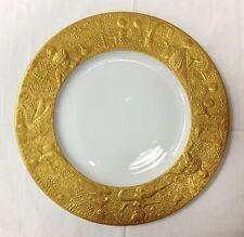 "ROSENTHAL ""MAGIC FLUTE SARASTRO"" GOLD DINNER PLATE 11 1/4""BJORN WIINBLAD GERMANY"
