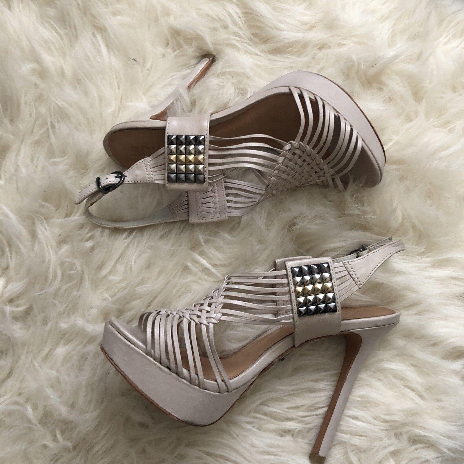 Schutz chaussures Studded Heels Stilettos Sandals Platforms Taille 6