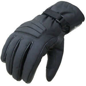 S-XXL PROANTI Motorradhandschuhe Regen Winter Leder Motorrad Handschuhe Gr/ö/ßen