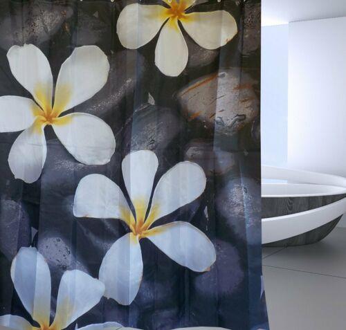 Frangipani Fabric Shower Curtain New Free Shipping
