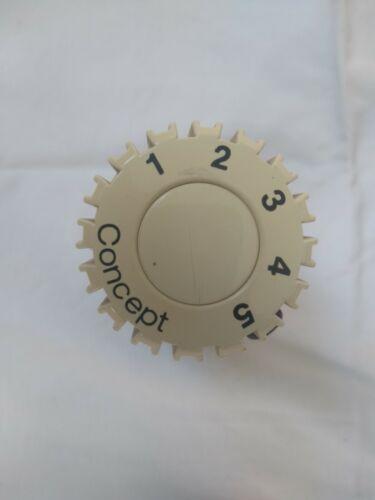 Heizung Concept Fühler Regler Thermostat Kopf  M30 x 1,5  Note 3