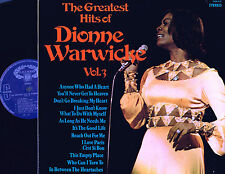 "Greatest Hits Of DIONNE WARWICKE Vol.3 12"" LP STEREO Hallmark USA/UK SHM829 @Exl"