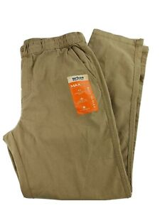 Urban Pipeline Womens Pants Loose Fit Beige Tan Stretch Size Large L NEW NWT