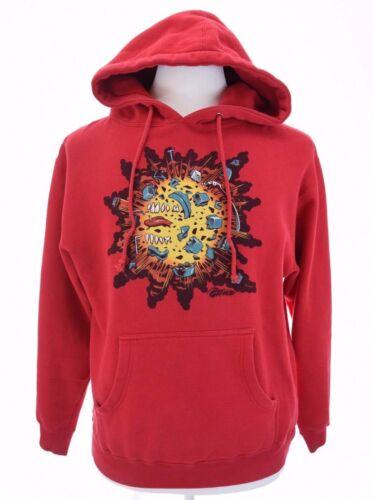 Grenade Mens Explosion Graphic Hoodie Sweatshirt H