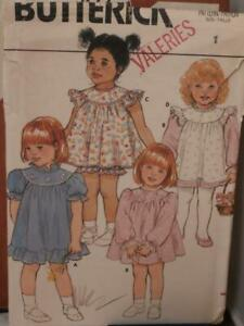 Size 5 Toddlers and Childs Dress McCalls 3039 Vintage Pattern