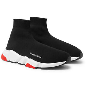 6dec6eed2577 Image is loading Balenciaga-Speed-Sock-Mid-Men-039-s-Trainers-
