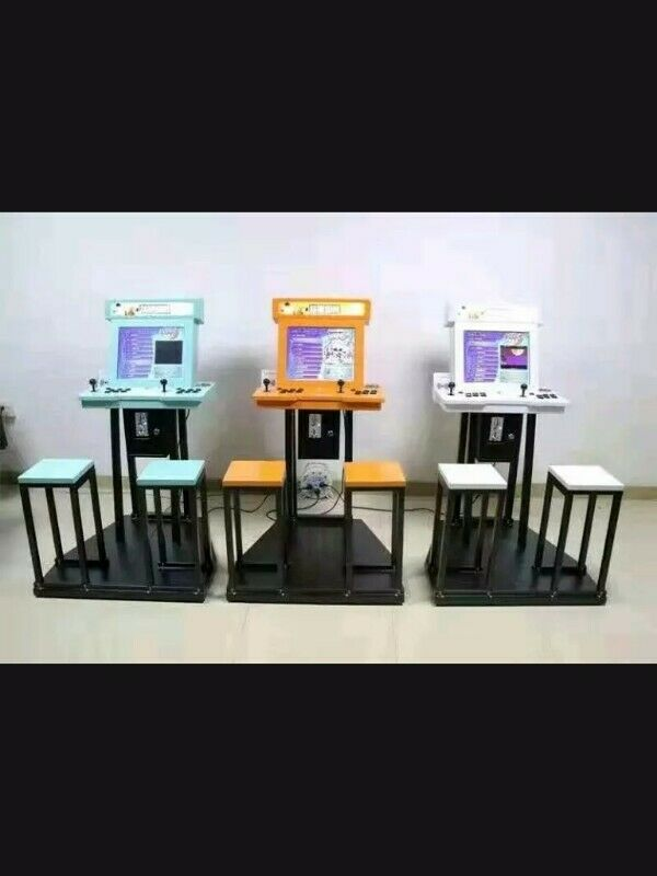 Coin Operated seated Arcade Game with 2400 games