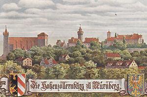 "Farbbildkarte ""Hohenzollernburg Nürnberg"" vom 19.01.1908 - Forchheim, Deutschland - Farbbildkarte ""Hohenzollernburg Nürnberg"" vom 19.01.1908 - Forchheim, Deutschland"