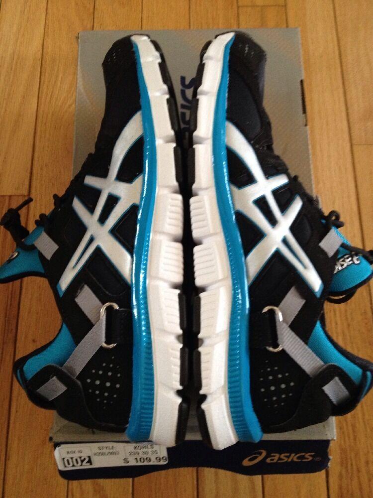 Asics Women Shoes Gel Synthesis Black Island Blue Sz 8 Running Price reduction Cheap women's shoes women's shoes
