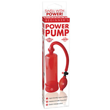 Beginners Power Pump Red - Male Enhancement Pump
