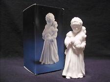 Avon Nativity Collectibles THE SHEPHERD BOY White Porcelain Bisque Figurine Lamb