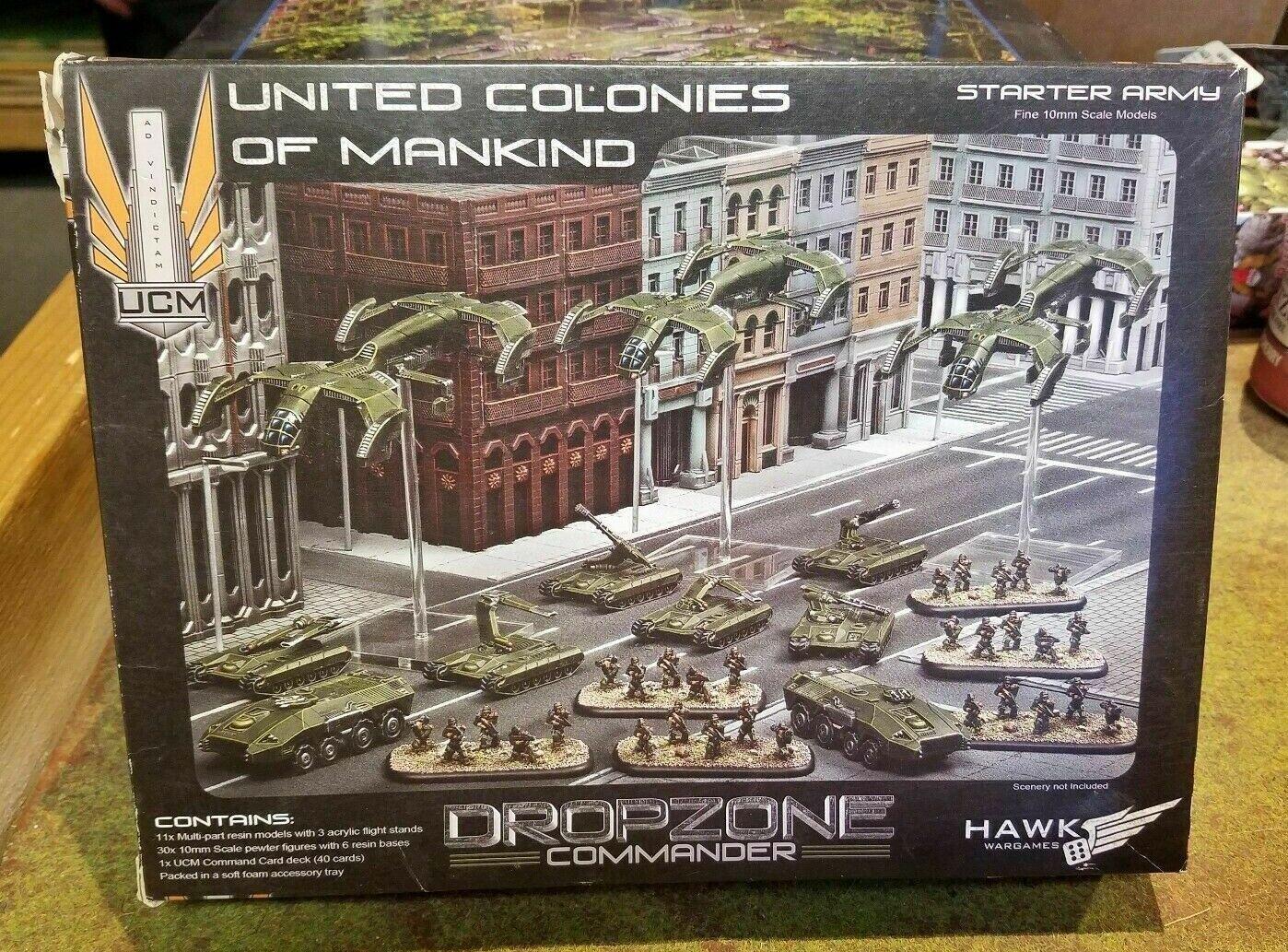 Dropzone comandante Unidos colonias de la humanidad Ejército De Arranque-Nuevo
