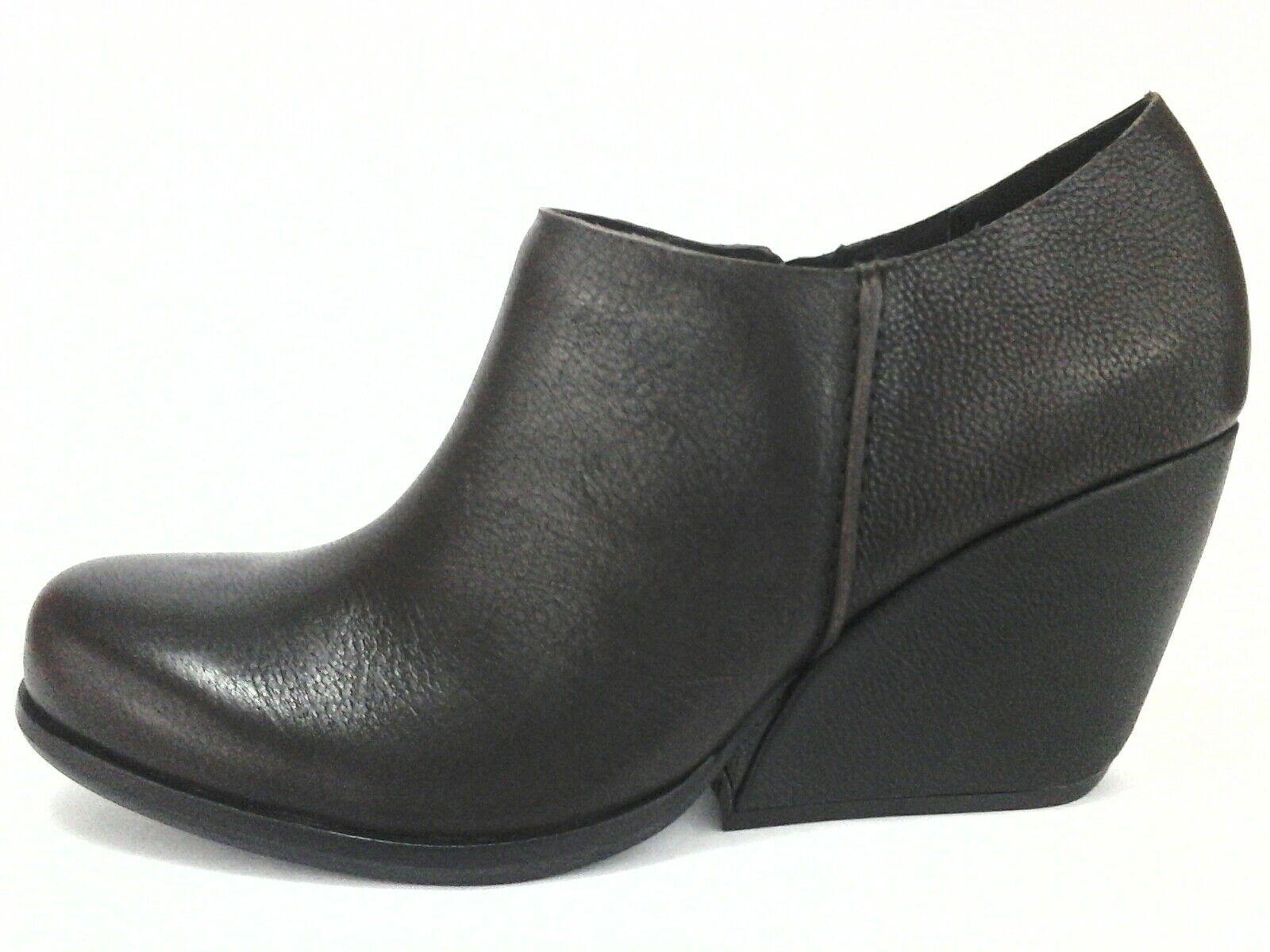 KORK-EASE Ankle Boots Korks NATALYA Brown Wedge Shoes Women's US 10 $190