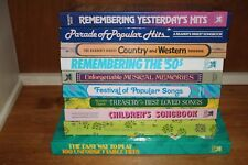 Lot of 10 Reader's Digest Songbooks Vintage The 50s Country & Western Childrens