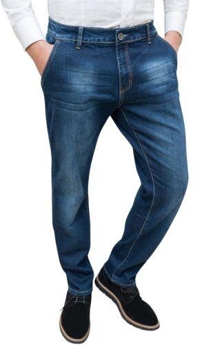 Jeans uomo Diamond cotone blu scuro denim casual tasca america 44 46 48 50 52