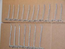 Grid Wall Metal Hook Lot Of 18 Gridwall Hooks 11 4 Inch Amp 7 6 Inch