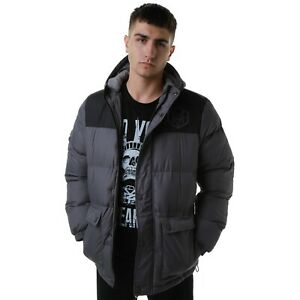 Zoo-York-Herren-Cooper-Jacke-Mantel-anthrazit-warm-Herbst-Winter-Wear