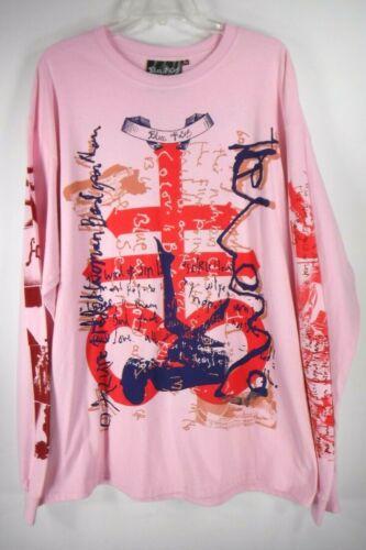 Edward Meadham Blue Roses Thelema T Shirt Size Lar
