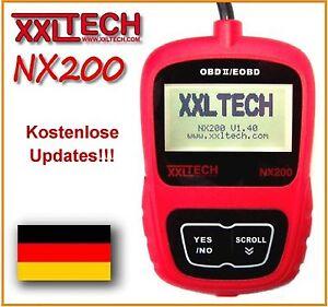 xxltech nx200 obd2 obd 2 ii can tester scanner. Black Bedroom Furniture Sets. Home Design Ideas
