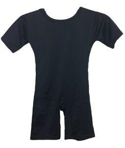 Girls-Kids-Women-All-in-One-Leotard-Suit-School-Uniform-Dance-Gymnastic-Ballet