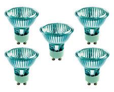 BELL Long Life Halogen Lamp Bulb Spot Wide Flood GU10 50W 5000HR 50° 50MM Pack 5