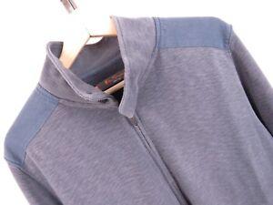 Giacca Cardigan maglione Fit Heritage Xxl zip Ben Vintage con Taglia Sherman B66 px1qaw