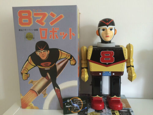 8 Man_eightman _8 ン _yonezawa_50th_anniversary_robot_tin_toy_worldwide Delivery