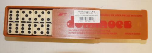 Witzigs-Doppio 6 TESSERE da domino in scatola di plastica