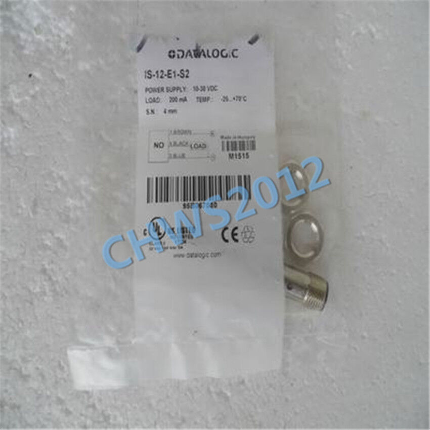 1 PCS NEW DATALOGIC proximity switch IS-12-E1-S2