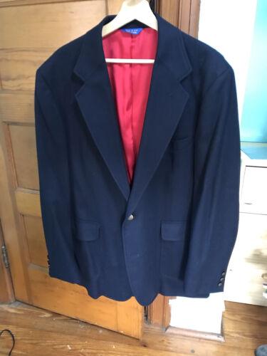 Vintage Pendleton Wool Blue Blazer 44L