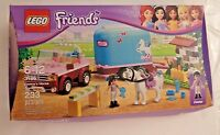 Lego Friends Emma's Horse Trailer 3186 Retired Truck Jeep Pony Emma Robin