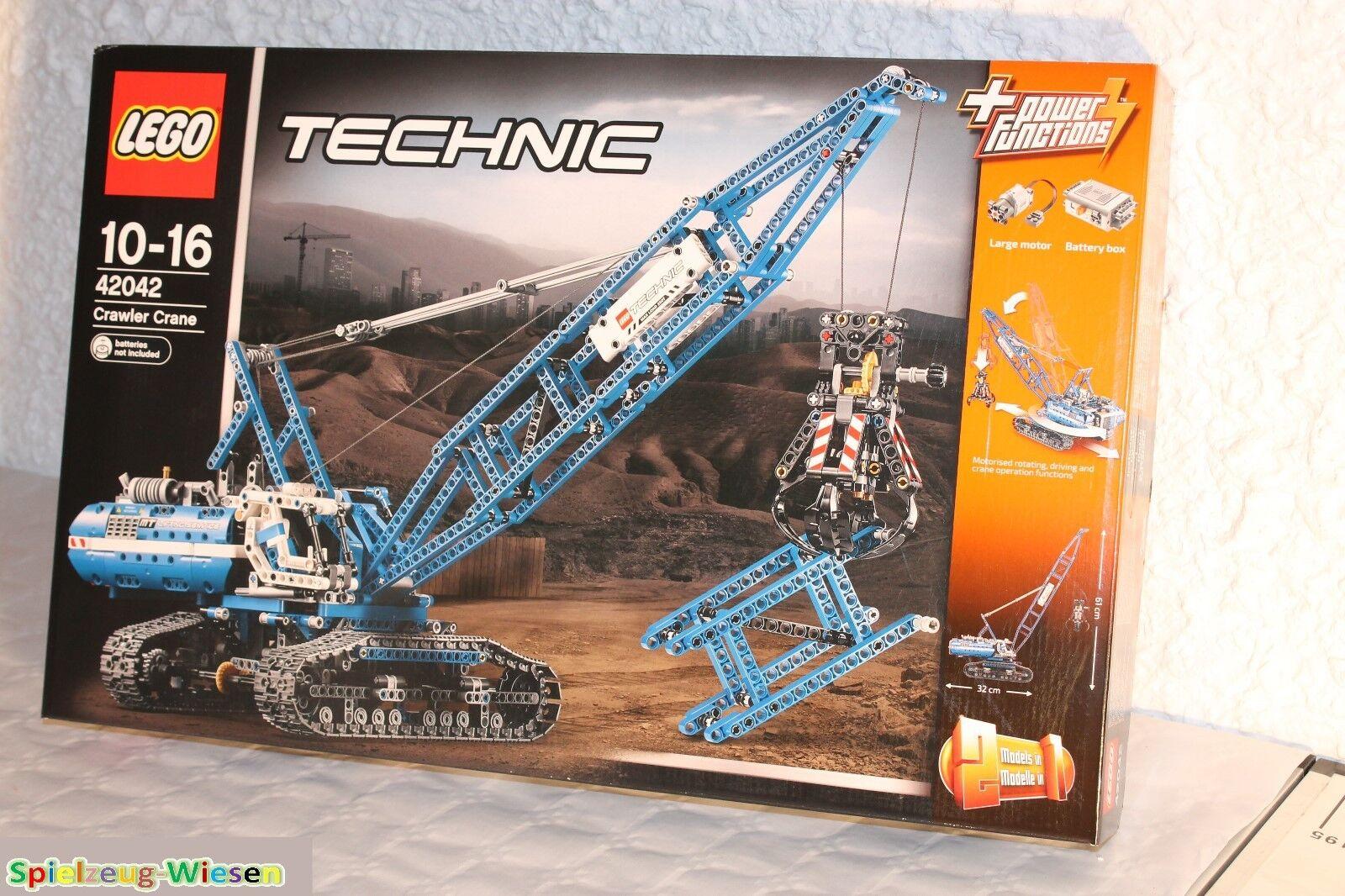 LEGO® TECHNIC TECHNIC TECHNIC 42042 Seilbagger - NEU & OVP - 9d3163