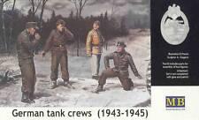 Masterbox 1:35 - German tank crew (1943-1945) kit no. 1 military plastic model