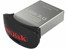 SanDisk Ultra Fit 32 GB  USB 3.0 Flash Drive (SDCZ43)