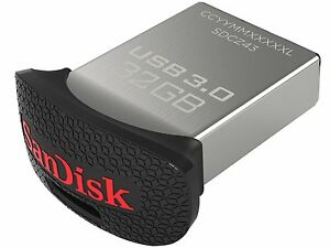 SanDisk Ultra Fit 128GB USB 3.0 Flash Drive ( SDCZ43-128G-G46 )