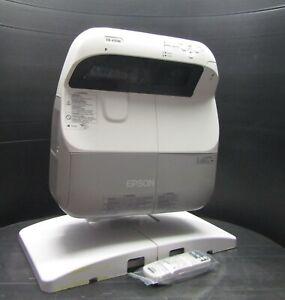 Epson EB-475Wi Short Throw 2600 Lumens WXGA Projector Excellent Image New Lamp